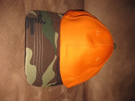Sugarloaf Duck Dynasty Orange And Camo Brand New Hat!  Good Quality! - $4.99
