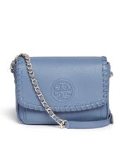 Tory Burch Marion Mini Cross Body Bag ($395)- Blue - £225.61 GBP