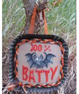 100% Batty halloween cross stitch chart Designs by Lisa - $6.30