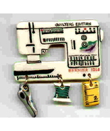Ceramic Sewing Machine Pin Bernina 1260 Model Handcrafted - $14.95