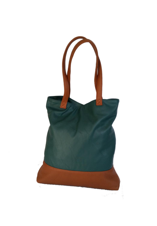 Leather Bag, Unique Tote Purse, Shoulder Bags for Women, Yosy - $133.49