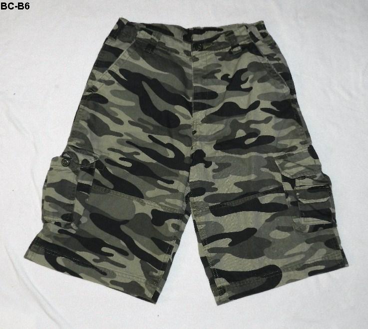 Bs b6 cargo camo shorts
