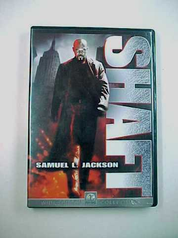 Shaft DVD starring Samuel L. Jackson & Christian Bale