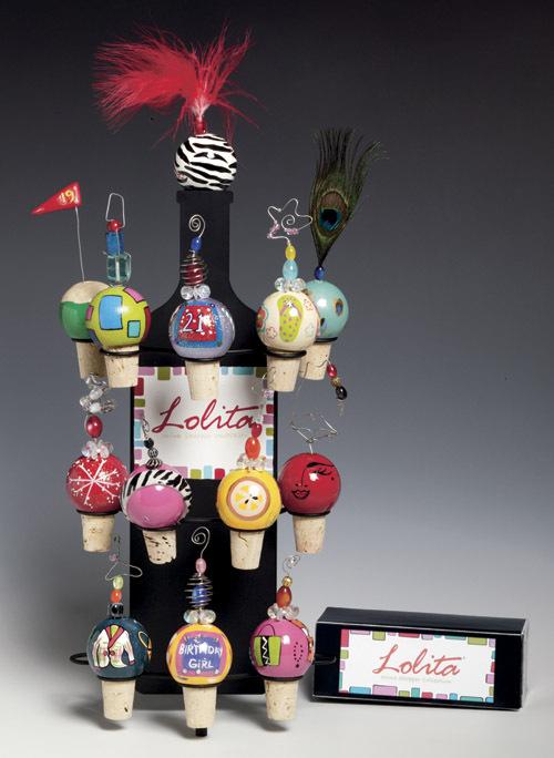 Fashionista Wine Stopper by Lolita
