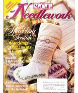 McCALL'S NEEDLEWORK & CRAFTS DEC. 1995 STOCKINGS ORNAMENTS - $4.00
