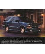 2001 Chevrolet BLAZER XTREME sales brochure sheet 01 Chevy S-10 - $8.00