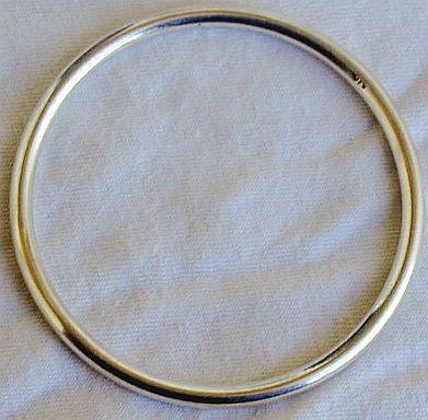 Silver bracelet LHC