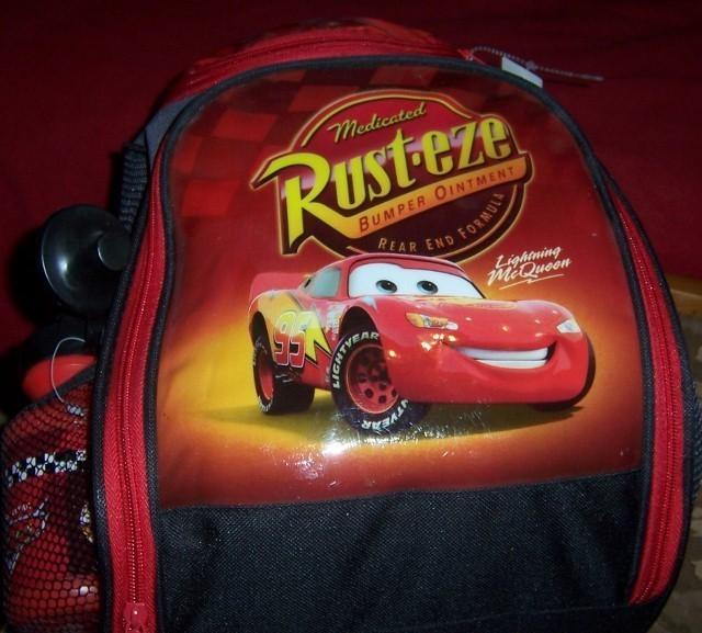 Cars backpack  640x577