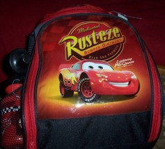 Overnight Backpack Cars Lightning McQueen Sleeping Bag Cars Water Bottle... - $20.00