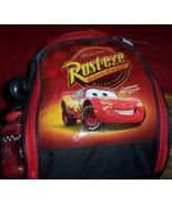 Overnight Backpack Cars Lightning McQueen Sleeping Bag Cars Water Bottle... - $20.00