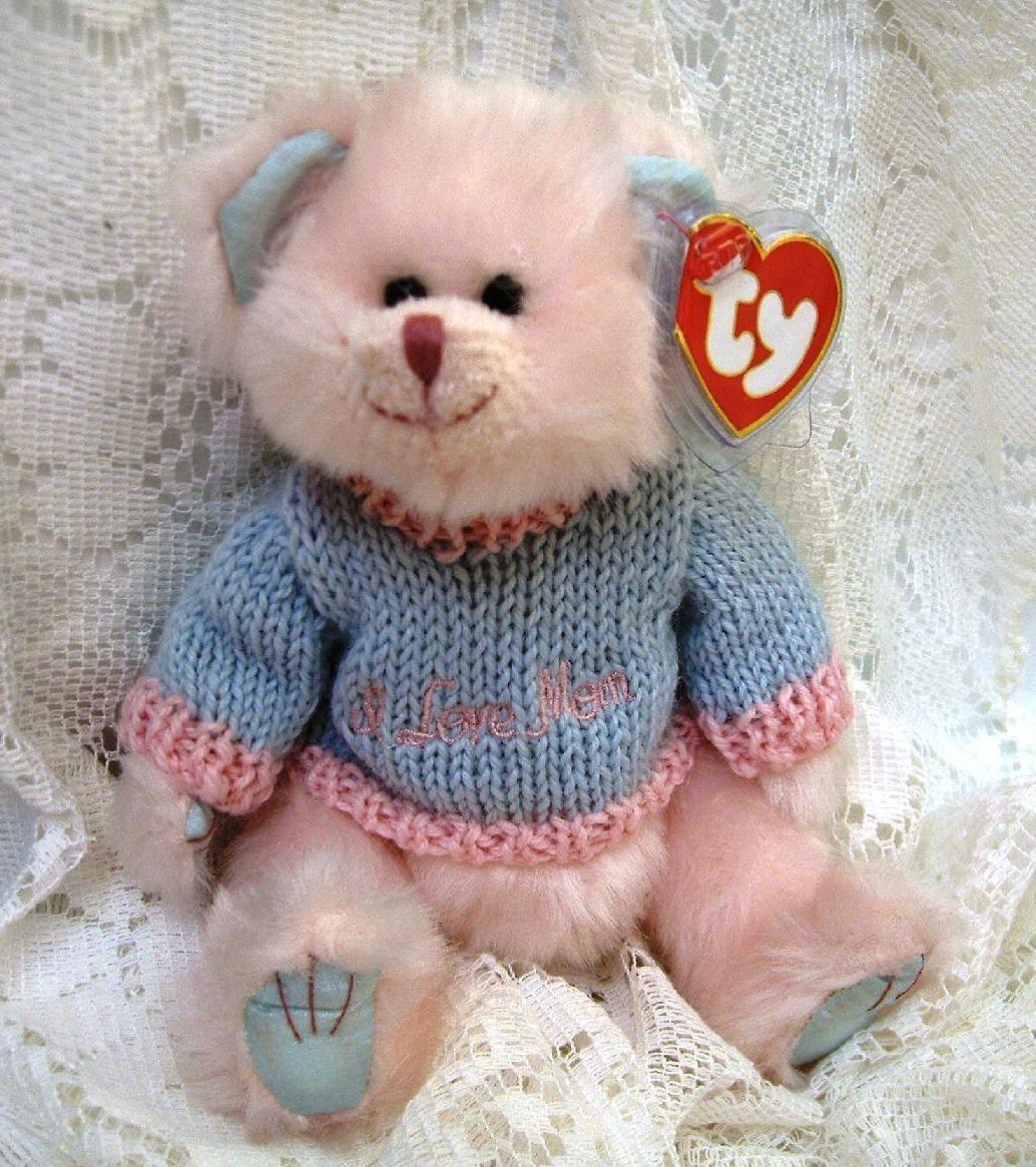 Attics for bonanzle 038 mom use  pink w blue sweater