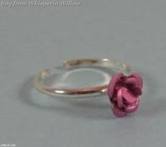 Pink Rose Toe Ring - $9.99