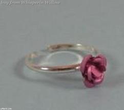 Pink Rose Toe Ring image 1