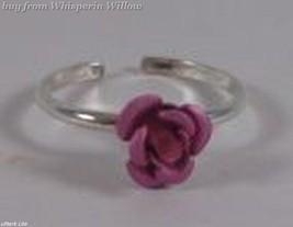 Pink Rose Toe Ring image 4