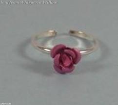 Pink Rose Toe Ring image 6