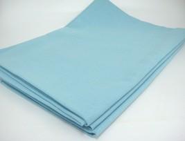 "Light Blue Tablecloth 60"" x 84"" Rectangular Excellent Condition - $18.80"