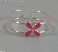 Pink Flower Toe Ring - $9.99