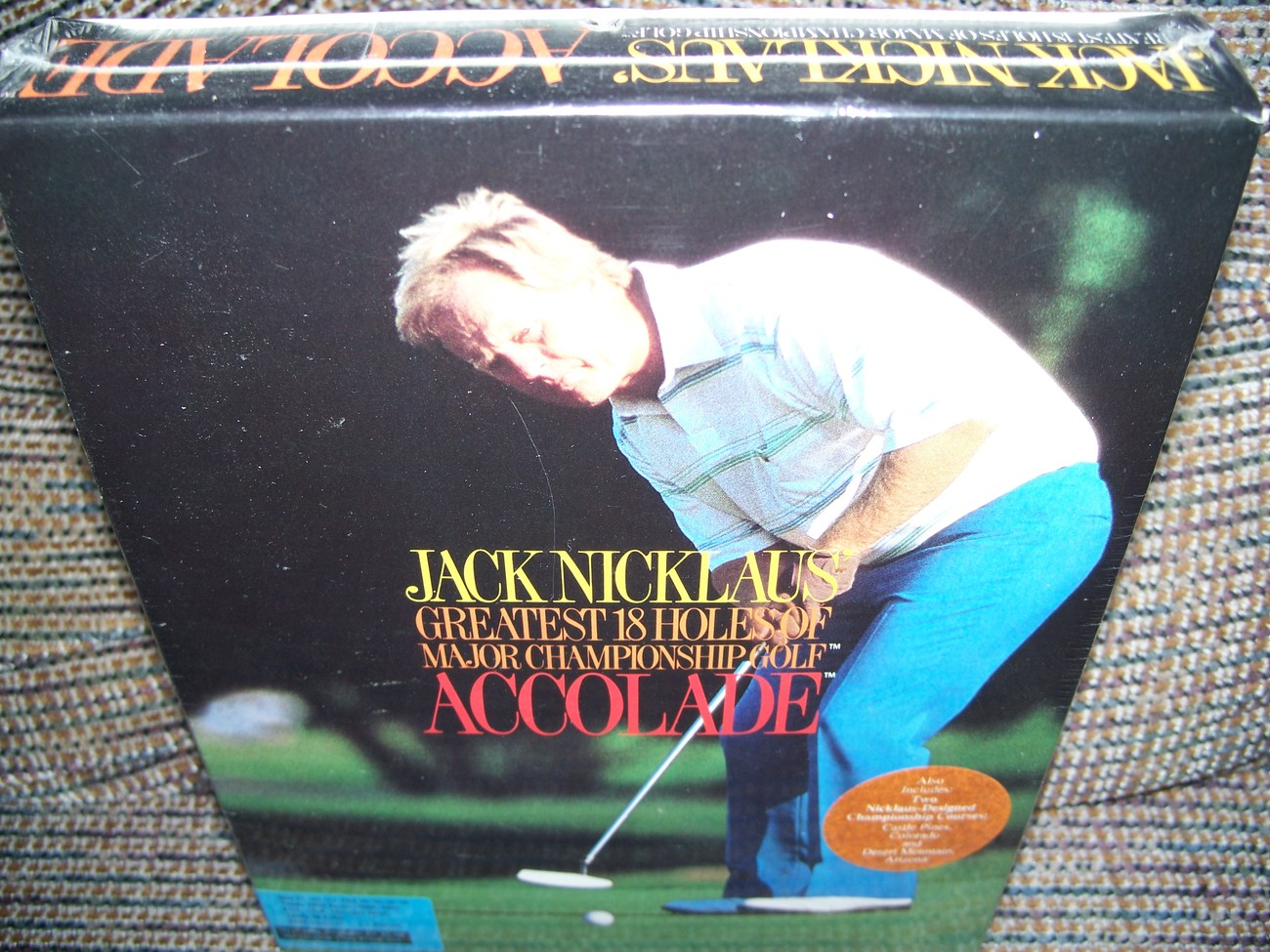 Jack Nicolaus Greatest 18 Holes of Championship Golf PC DOS