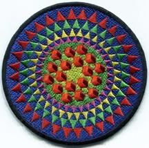 Crop circle ufo alien ET embroidered applique iron-on patch C-7 - $3.22