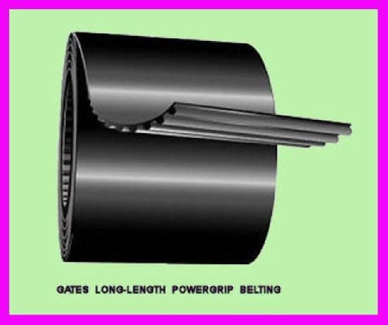 * 20' Gates Long Length PowerGrip Timing Belting LL075H / 93140006 / 9314-0006 *
