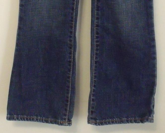 Girls Gap Kids Denim Blue Boot Cut Jeans Size 8