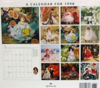 Attics for bonanzle madame alexander calendar back use use
