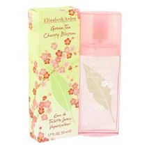 Green Tea Cherry Blossom Perfume By Elizabeth Arden 1.7 oz Eau De Toilette Spray - $21.63