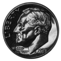 1958 Proof Silver Roosevelt Dime  CP1587 - $6.95