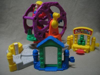 Fisher Price Little People Toy Musical Ferris Wheel