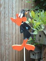 Whirligig Wind  Mobile Crazy Duck  Handpainted Handcrafted - $58.00