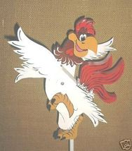Whirligig Foghorn Leghorn, Handcrafted, Handpainte,wind mobile,motion,wh... - $58.00