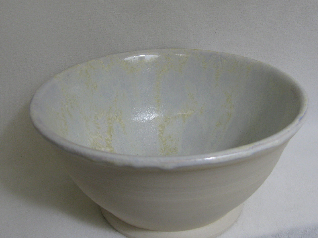 Porcelain Bowl with Crystalline Glaze RKC14