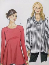 Vogue Sewing Pattern 8952 Ladies Misses Tunic Size L-XXL New - $18.98