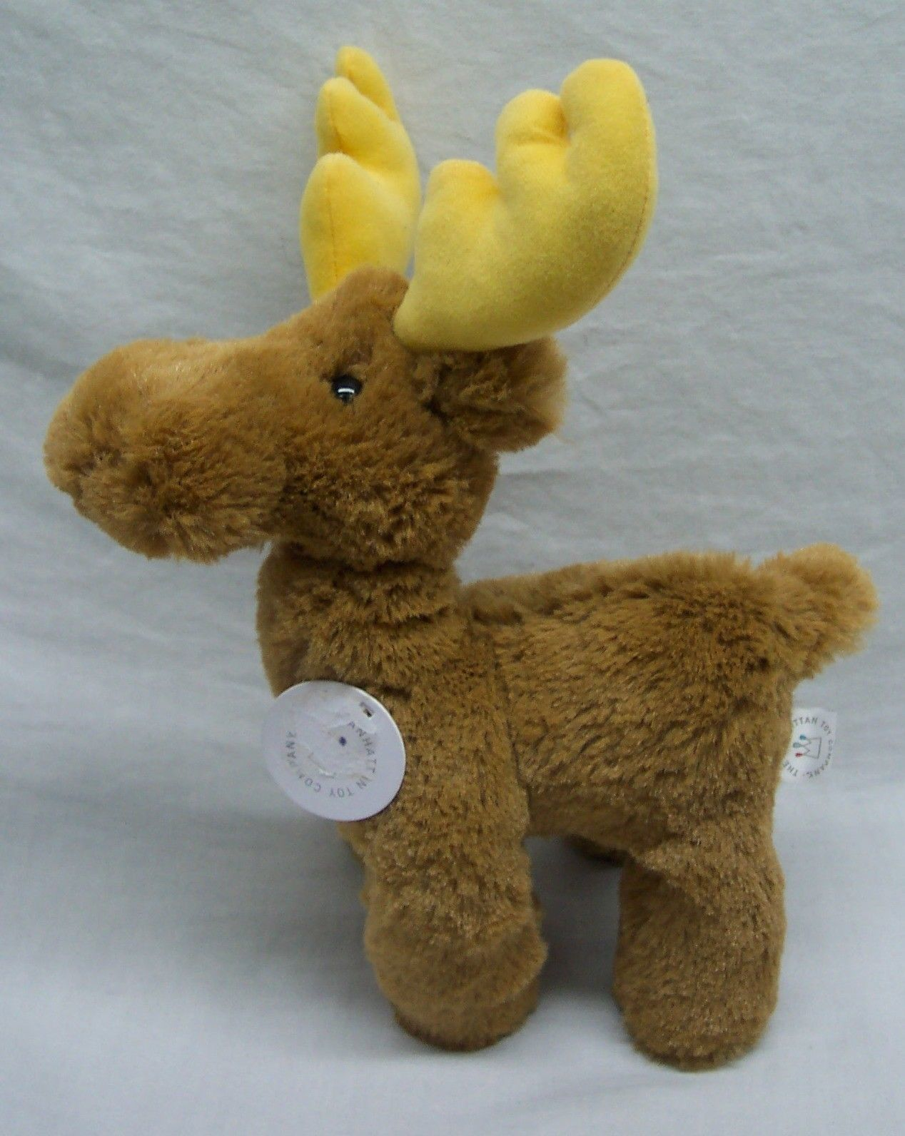 "Primary image for Manhattan Toy SOFT MORRIS MOOSE 10"" Plush STUFFED ANIMAL Toy NEW"