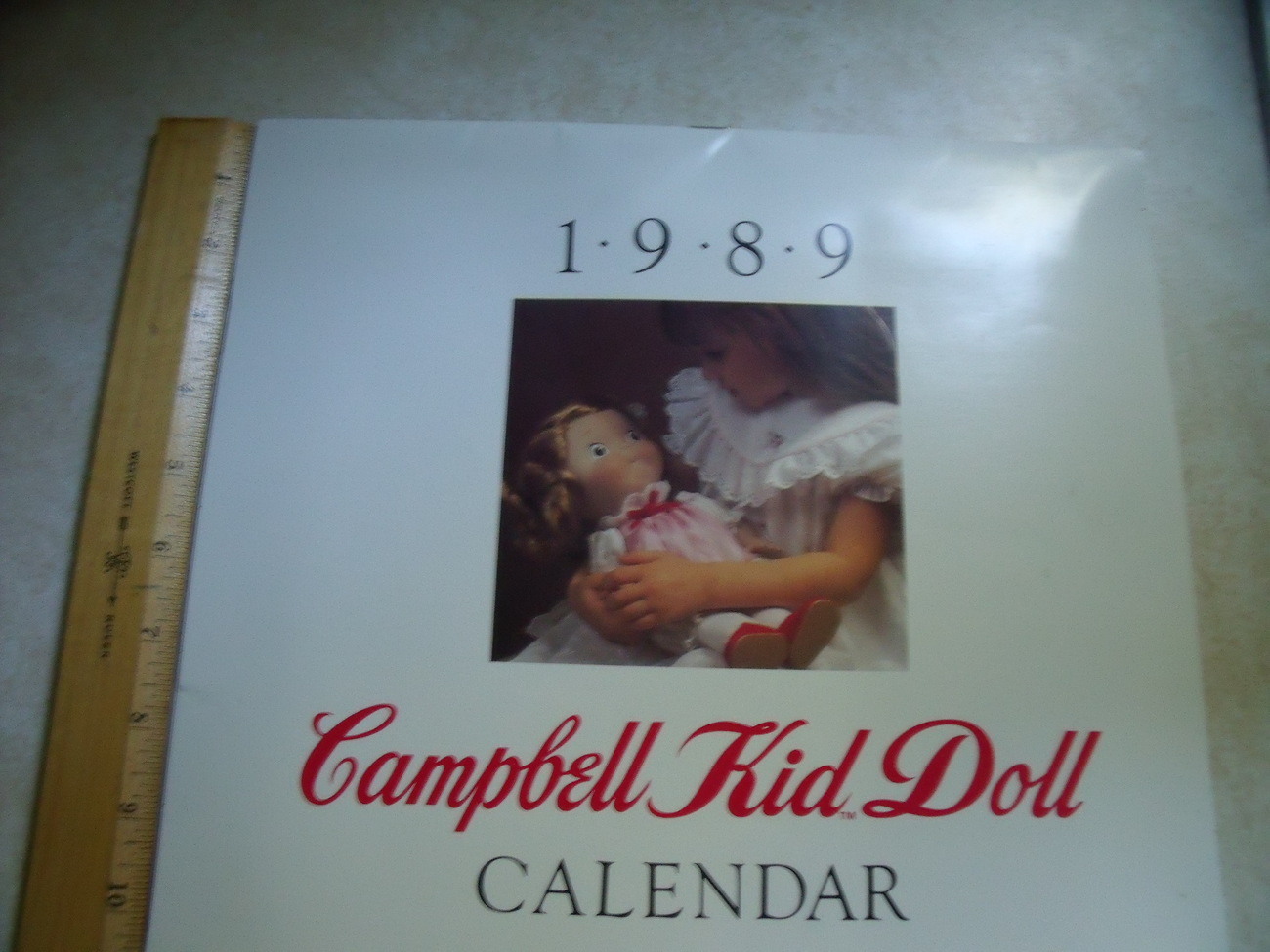 Campbell Kids 1989 and 2017 Doll Calendar