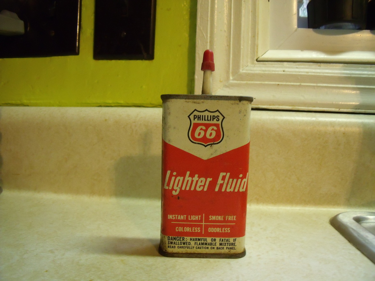 Phil 66 lighter fluid