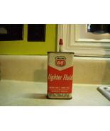Phillips 66 Lighter Fluid Tin Vintage about 1968 - $23.00