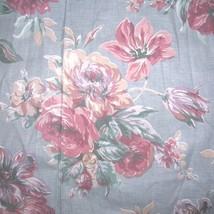 Vintage Cotton Floral Fabric Drape Panels Fabric Destash - $35.00