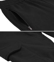 Men's Casual Fleece Sweatpants Sport Gym Workout Fitness Cargo Jogger Pants image 4