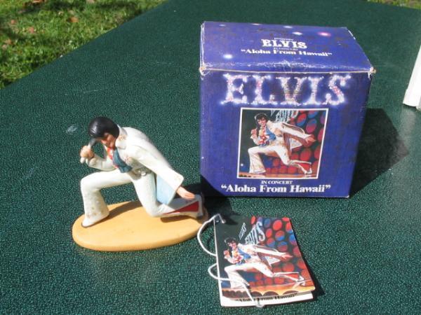 Elvis Presley Hawaii Concert Figurine MIB Royal Orleans