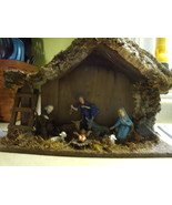 Nativity Scene Made in Italy-Vintage circa 1965 - $30.00