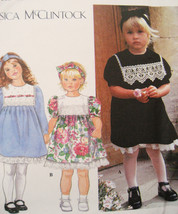 Simplicity 9835 New Girl Toddler 1/2 to 2 Dress Head Band - $9.95