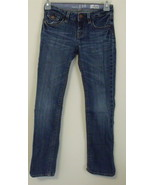 Girls Gap Kids Denim Blue Straight Leg Jeans Si... - $8.00