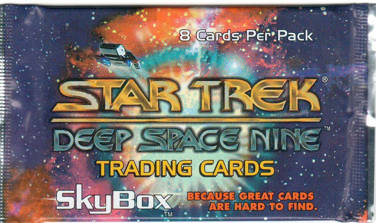 Star Trek Deep Space Nine Trading Cards Booster Pack - 8 per