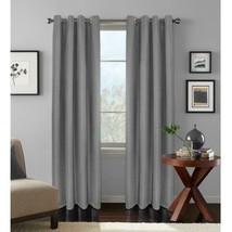 "NEW Cameron Room Darkening Window Panels in Gray 52"" x 84"" - $28.50"