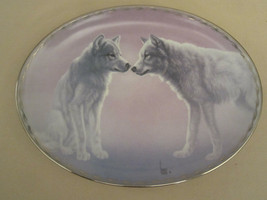 WOLF Collector Plate TENDER ADVANCES Lee Cable NATURE'S TENDERNESS #3  W... - $28.06