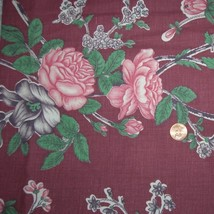 1930s Vintage Floral Cotton Fabric 36 Inches Wide - $25.00