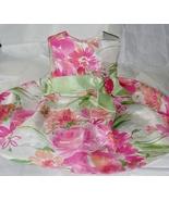 Girls Dressy Floral Dress Size 3T - $14.95