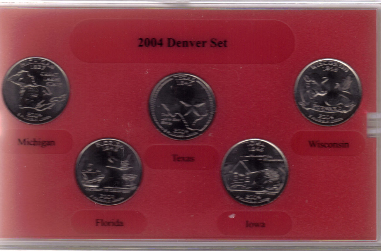2004 DENVER  MINT EDITION STATE QUARTER COLLECTION