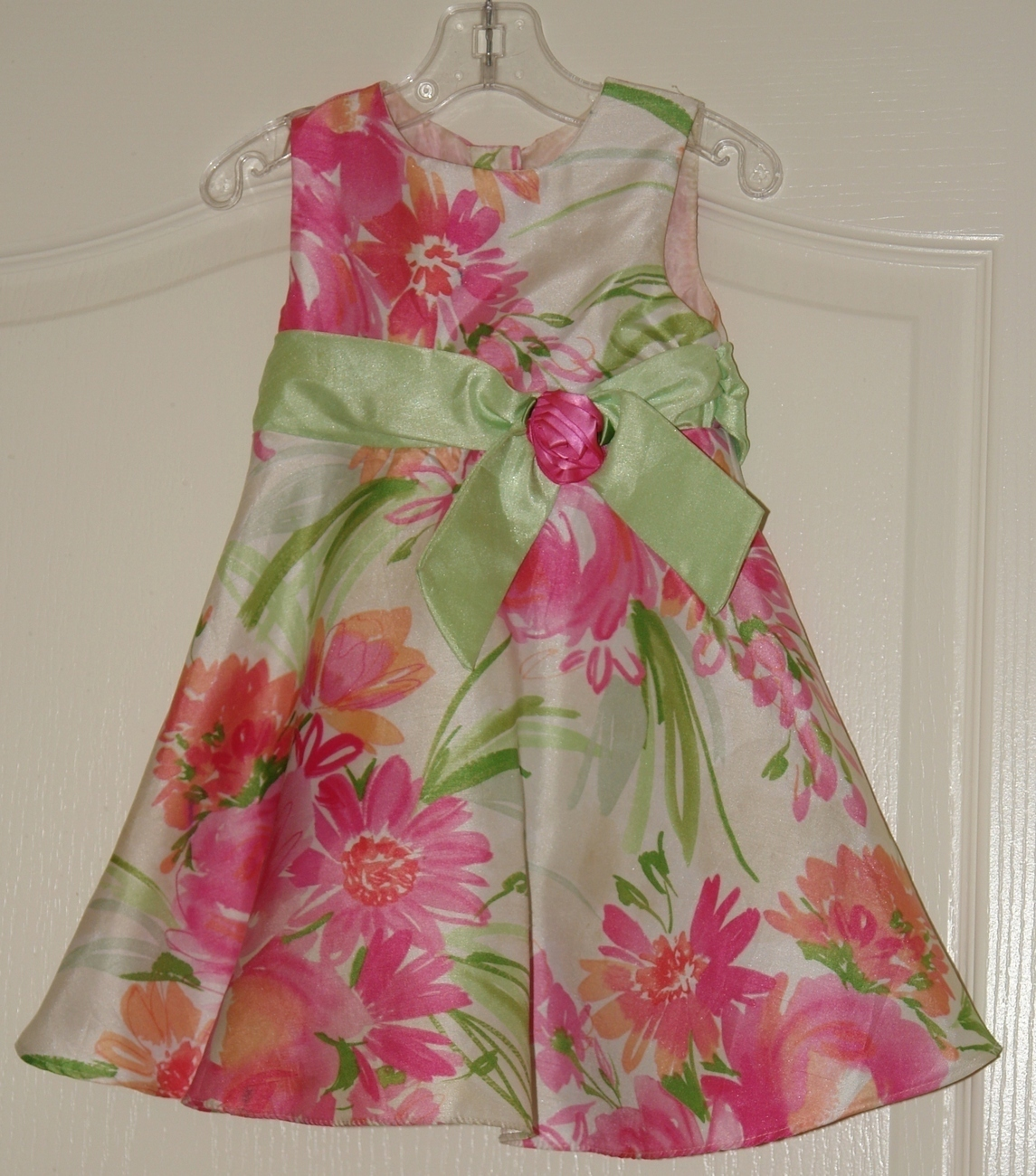 Girls Dressy Floral Dress Size 3T